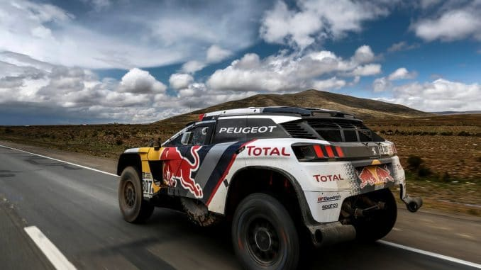 Dakar 2017 Etape 9 : en liaison. (c) : DR