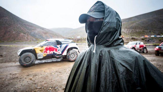 Trop de pluie et de boue pour le Dakar 2017 Etape 6. (c) : ASO