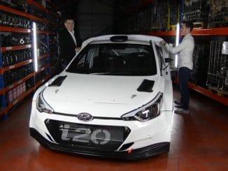 Jordan Berfa en Hyundai i20 R5. (c) : DR