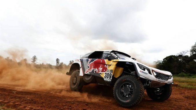 Seb Loeb et Daniel Elena à l'attaque sur le Dakar 2017. (c) : DR