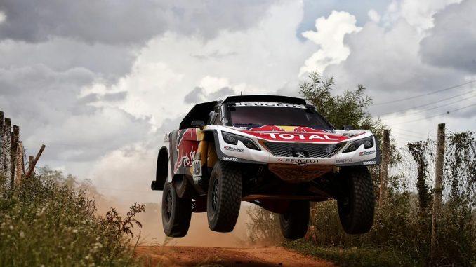 Dakar 2017 Etape 2. Loeb s'impose déjà. (c) : DR