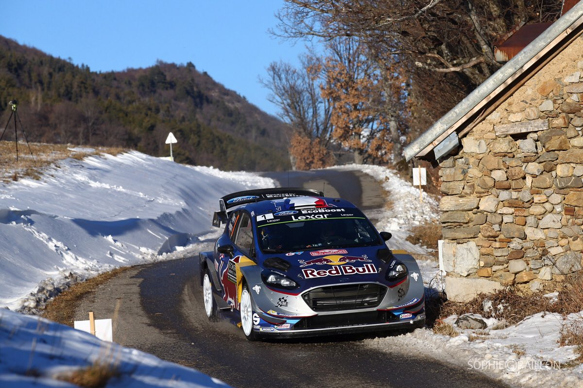 shakedown rallye monte carlo 2017 ogier devant pilote de course. Black Bedroom Furniture Sets. Home Design Ideas