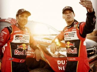 Dakar 2017 Etape 1 Nasser al-Attiyah et Matthieu Baumel (c) : DR