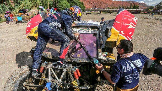Video crash Carlo Sainz Dakar 2017