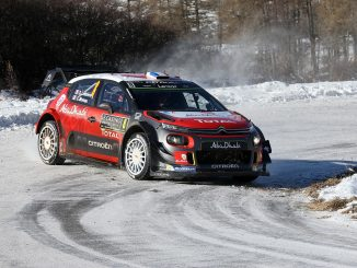 Programme TV Rallye de Suède 2017 Citroën C3 WRC Rallye de Suède 2017. (c) : DR