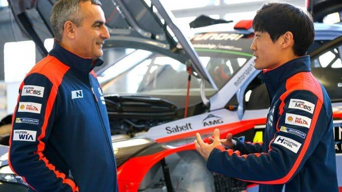 Chewon Lim, l'espoir de Hyundai Motorsport en Rallye. (c) : DR