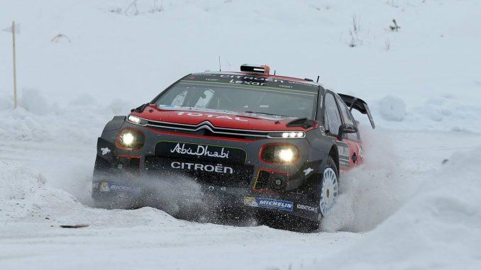 Debuts difficiles pour Citroën Racing