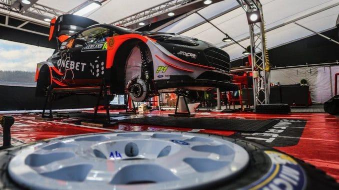 Shakedown Rallye de Suède 2017. Fiesta WRC Ostberg 2017