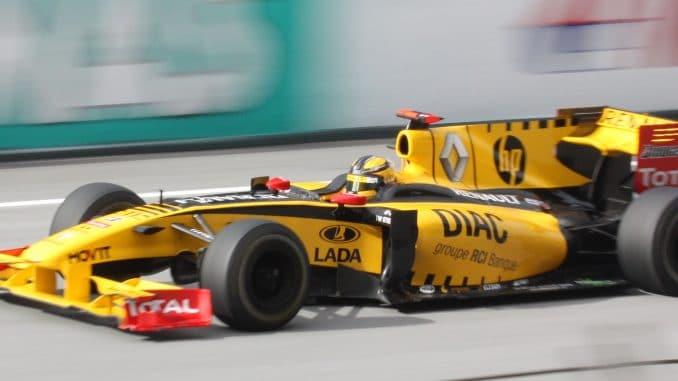 Kubica au GP de Malaisie 2010