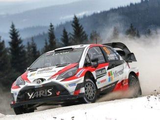 Classement Rallye de Suède 2017 Jour 3 Latvala Yaris WRC