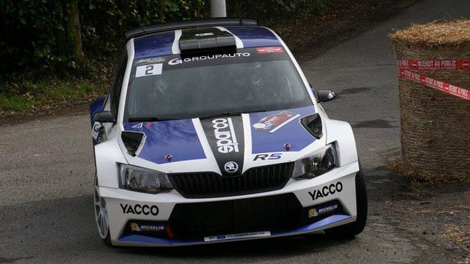 Classement Rallye de la Cote Fleurie 2017. Pierre Ragues, brillant second et vainqueur en R5.