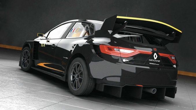 Guerlain Chicherit sur Renault Megane RX Prodrive