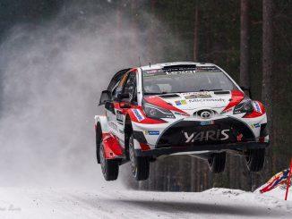 WRC : Toyota surprend en Suède (c) : DR