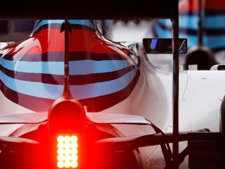 Williams FW40. Crédit (c) : Williams Martini Racing