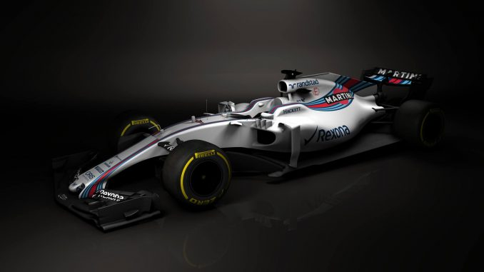 Williams FW40. Crédit Photo : Williams Martini Racing