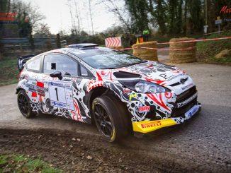 Liste des engagés Rallye du Touquet 2017 ici Eric Brunson sur Ford Fiesta WRC
