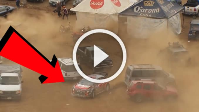 Crash Kris Meeke Mexique 2017