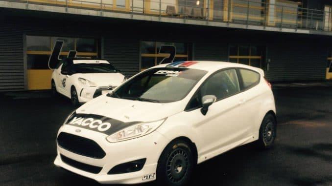 La Ford Fiesta R2J CHL de Hugo pour 2017. (c) : DR