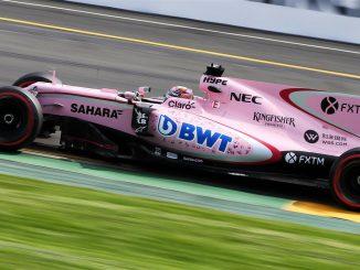 F1 2017 : les goûts et les couleurs. Ici la Force India. (c) : DR