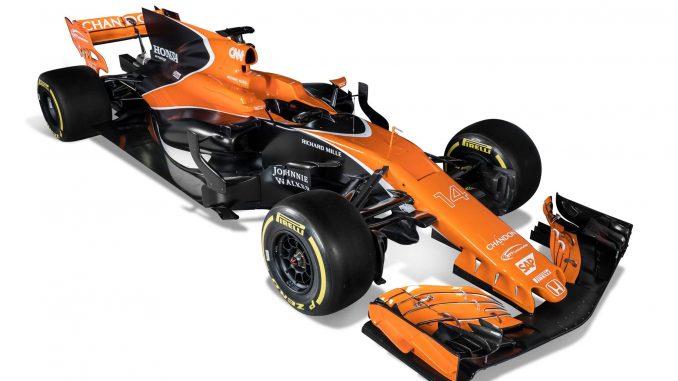 F1 2017 : la McLaren 2017. (c) : DR