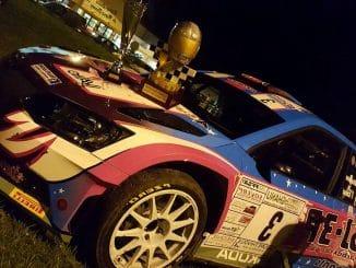Classement Rallye des Vignes de Régnié 2017. (c) : DR