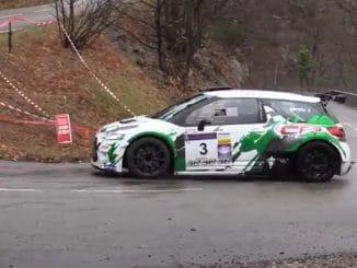 Rallye de l'Hérault 2017 pour Laurent Brunel. (c) : DR