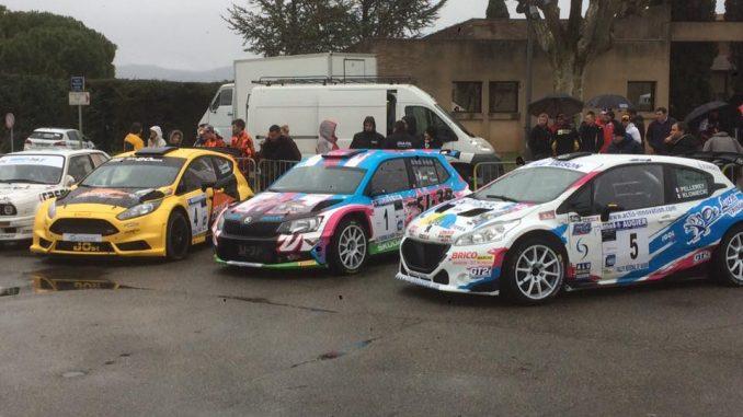 Rallye de Vaison 2017 : Puppo Première. (c) : SJ-3P