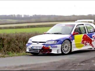 Sébastien Loeb en 306 Maxi