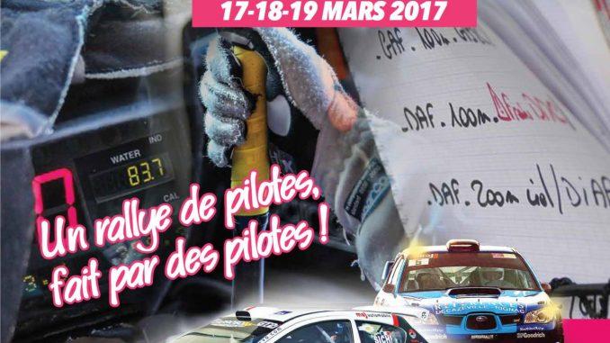Liste des engagés Rallye du Vallon de Marcillac 2017. (c) : ARVM
