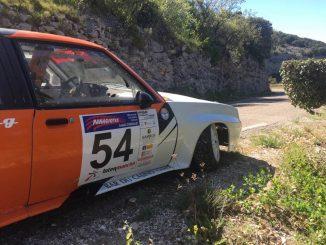 Denis Hugues. Abandons Rallye de Venasque 2017. (c) : DR