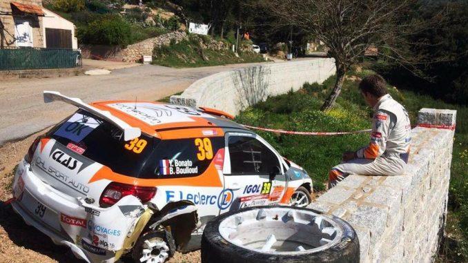 Abandons Tour de Corse 2017. (c) : DR