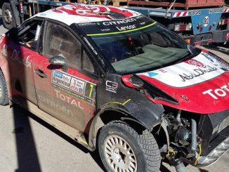 Abandons Rallye Argentine 2017