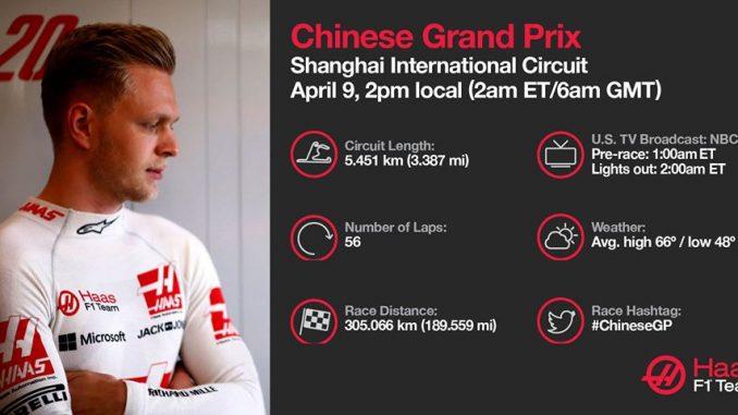 Programme TV GP de Chine 2017