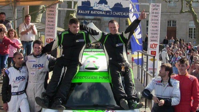Classement Rallye des 3 Chateaux 2017. (c) : DR