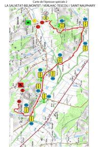 Rallye du Frontonnais 2017 - Carte ES2