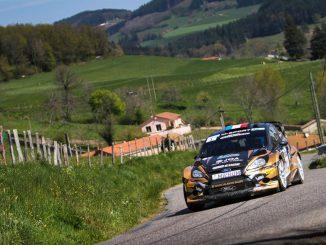 Rallye Lyon Charbonnières 2017 : Salanon entre joie et tristesse