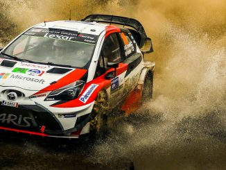 Parcours Rallye d'Argentine 2017. (c) : Toyota