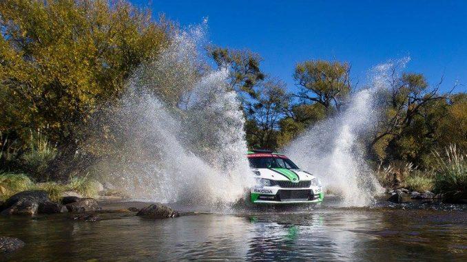 Pontus Tidemand a encore survolé le WRC-2. (c) : DR