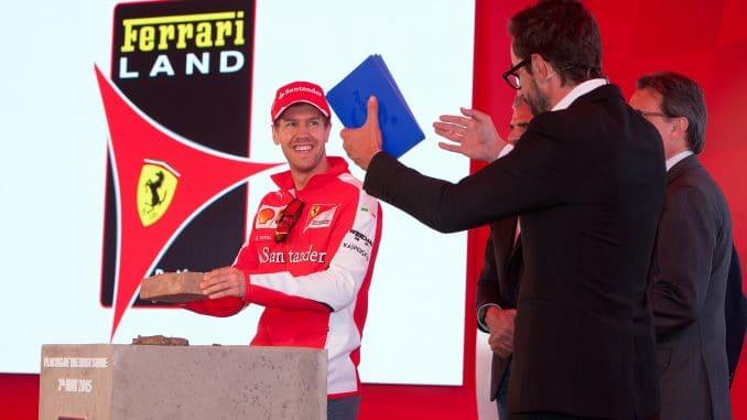 Décollage vers le Ferrari Land