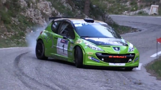 Vidéos Rallye de Venasque 2017