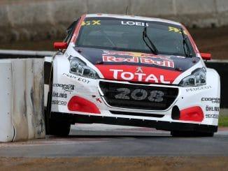 World RX Barcelone : débuts difficiles pour Loeb. (c) : DR