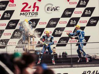 24h du Mans Moto : podium