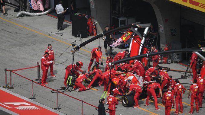 GP de Chine 2017 : arrêt au stand pour Ferrari