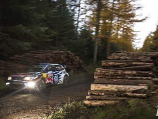 Des spéciales de nuit au Wales Rallye GB