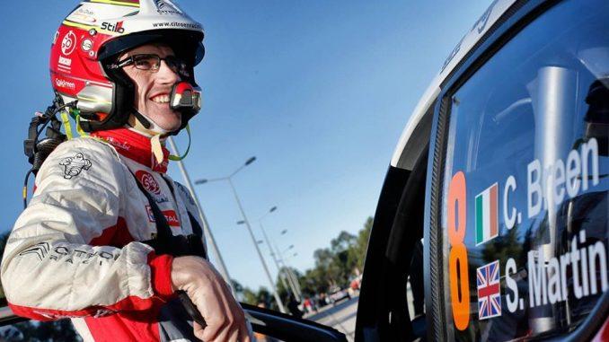 Craig Breen, rapide et régulier qui pointe à la quatrième place - Rallye du Portugal 2017 : Ogier prend le pouvoir