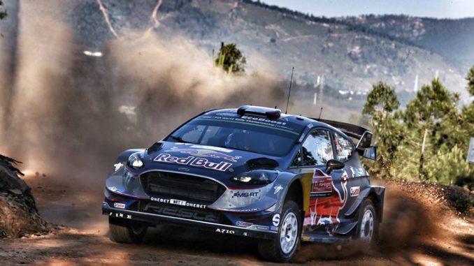 Les moments clés du Rallye du Portugal 2017 Ogier prend le commandement du rallye