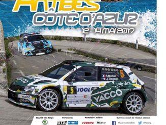 Liste des engagés Rallye d'Antibes 2017