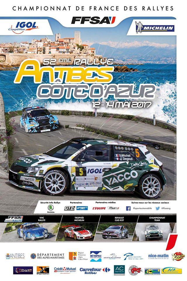 Liste des engag s rallye d 39 antibes 2017 pilote de course - Rallye d antibes 2017 ...