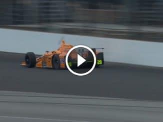 Alonso tue deux oiseaux en Indy.
