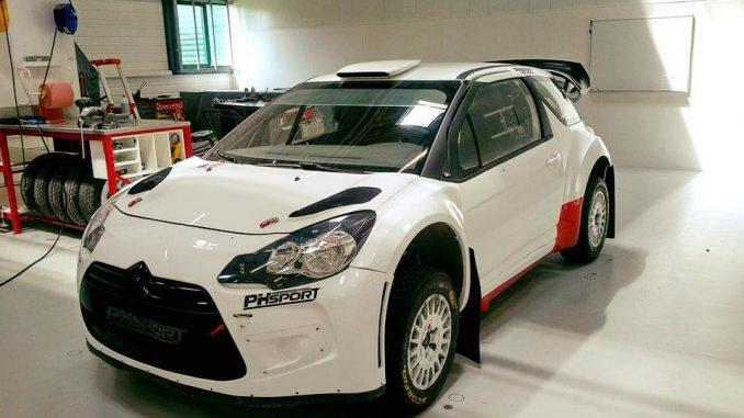 Noël Tron, de retour aux affaires sur une DS3 WRC en provenance des ateliers de Bernard Piallat (PH Sport)